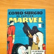 Tebeos: CAPITÁN MARVEL, Nº 20 Y ÚLTIMO - EDITORIAL HISPANO AMERICANA 1949. Lote 56877597