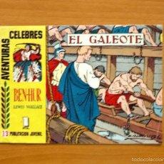 Tebeos: AVENTURAS CÉLEBRES - BEN-HUR, Nº 13, Nº 1 DE LA SERIE - HISPANO AMERICANA 1958. Lote 56878618