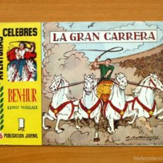 Tebeos: AVENTURAS CÉLEBRES - BEN-HUR, Nº 16 - HISPANO AMERICANA 1958. Lote 56878661
