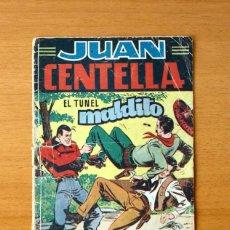 Tebeos: JUAN CENTELLA, Nº 2 EL TÚNEL MALDITO - EDITORIAL HISPANO AMERICANA 1951. Lote 56887656