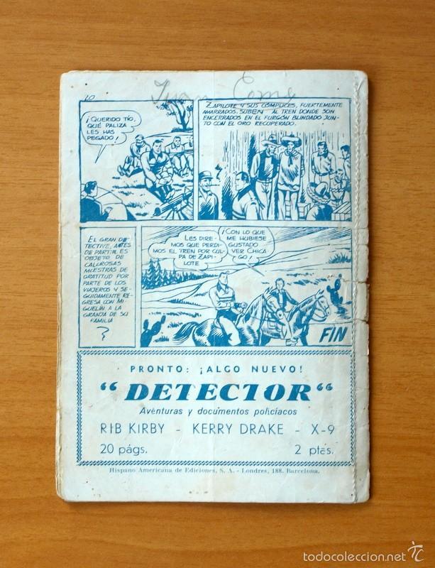 Tebeos: Juan Centella, nº 2 El túnel maldito - Editorial Hispano Americana 1951 - Foto 3 - 56887656