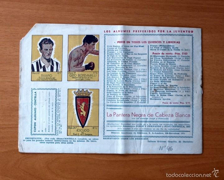 Tebeos: Juan Centella, nº 46 Valor y lealtad - Editorial Hispano Americana 1940 - Foto 3 - 56887836