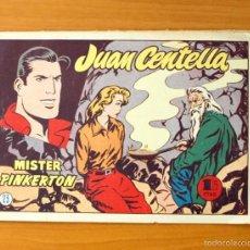 Tebeos: JUAN CENTELLA, Nº 23 MISTER PINKERTON - EDITORIAL HISPANO AMERICANA 1955. Lote 56888087
