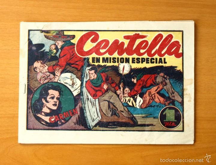 JUAN CENTELLA, Nº 102 CENTELLA EN MISIÓN ESPECIAL - EDITORIAL HISPANO AMERICANA 1940 (Tebeos y Comics - Hispano Americana - Juan Centella)