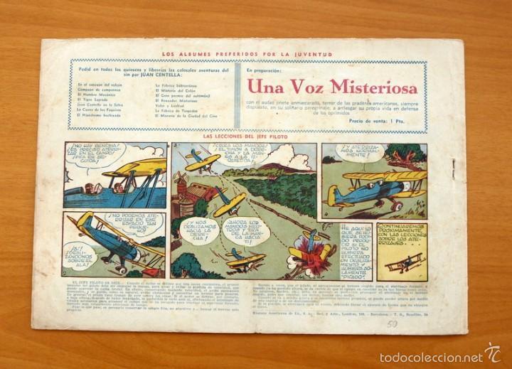 Tebeos: Juan Centella, nº 50 Una equivocación fatal - Editorial Hispano Americana 1940 - Foto 4 - 56888288