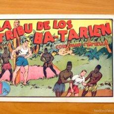 Tebeos: JUAN CENTELLA, Nº 52 LA TRIBU DE LOS BA-TARIEN - EDITORIAL HISPANO AMERICANA 1940. Lote 56888324