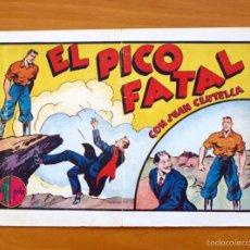 Tebeos: JUAN CENTELLA, Nº 60 EL PICO FATAL - EDITORIAL HISPANO AMERICANA 1940. Lote 56888524