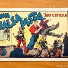 Tebeos: JUAN CENTELLA, Nº 63 UNA FALSA PISTA - EDITORIAL HISPANO AMERICANA 1940. Lote 56888571