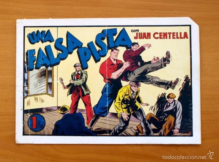 JUAN CENTELLA, Nº 63 UNA FALSA PISTA - EDITORIAL HISPANO AMERICANA 1940 (Tebeos y Comics - Hispano Americana - Juan Centella)