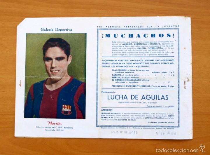 Tebeos: Juan Centella, nº 63 Una falsa pista - Editorial Hispano Americana 1940 - Foto 4 - 56888597