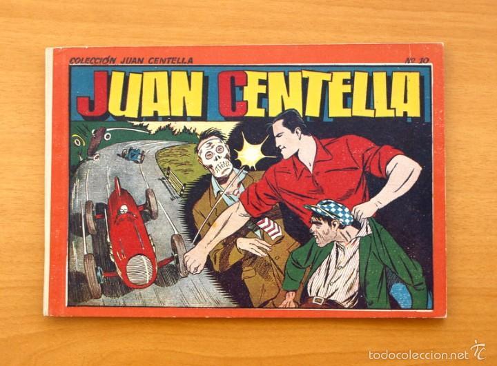JUAN CENTELLA ALBUM, Nº 10 - EDITORIAL HISPANO AMERICANA 1944 (Tebeos y Comics - Hispano Americana - Juan Centella)