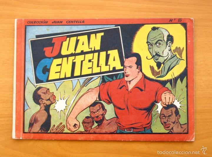 JUAN CENTELLA ALBUM, Nº 13 - EDITORIAL HISPANO AMERICANA 1944 (Tebeos y Comics - Hispano Americana - Juan Centella)