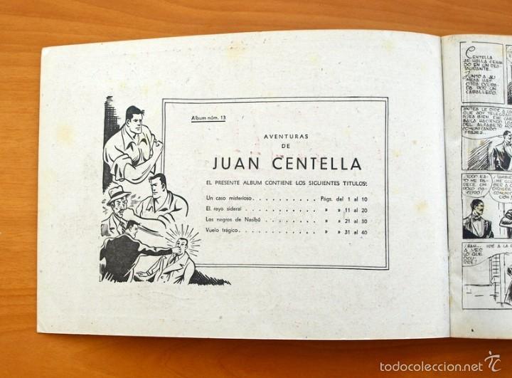 Tebeos: Juan Centella album, nº 13 - Editorial Hispano Americana 1944 - Foto 2 - 56888806
