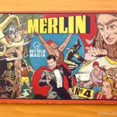 Tebeos: MERLIN EL REY DE LA MAGIA, ÁLBUM Nº 4 (ÚLTIMO) -EDITORIAL HISPANO AMERICANA 1944. Lote 56890951