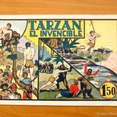 Tebeos: TARZÁN - Nº 5, TARZÁN EL INVENCIBLE - EDITORIAL HISPANO AMERICANA 1942. Lote 56892342