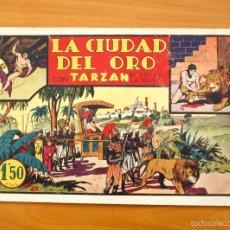 Tebeos: TARZÁN - Nº 6, LA CIUDAD DEL ORO - EDITORIAL HISPANO AMERICANA 1942. Lote 56892393