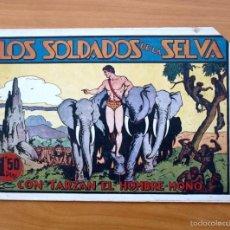 Tebeos: TARZÁN - Nº 9, LOS SOLDADOS DE LA SELVA - EDITORIAL HISPANO AMERICANA 1942. Lote 56892470