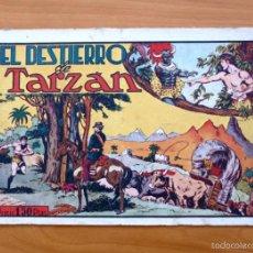 Tebeos: TARZÁN - Nº 10, EL DESTIERRO DE TARZÁN - EDITORIAL HISPANO AMERICANA 1942. Lote 56892576