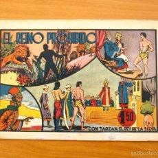 Tebeos: TARZÁN - Nº 12, EL REINO PROHIBIDO - EDITORIAL HISPANO AMERICANA 1942. Lote 56894235
