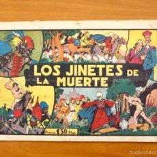 Tebeos: TARZÁN - Nº 13, LOS JINETES DE LA MUERTE - EDITORIAL HISPANO AMERICANA 1942. Lote 56894250