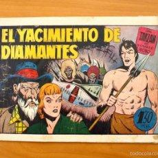 Tebeos: TARZÁN - Nº 16, EL YACIMIENTO DE DIAMANTES - EDITORIAL HISPANO AMERICANA 1942. Lote 56894285