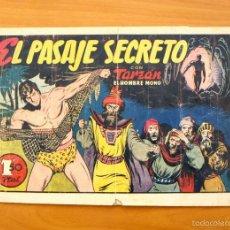 Tebeos: TARZÁN - Nº 18, EL PASAJE SECRETO - EDITORIAL HISPANO AMERICANA 1942. Lote 56894307