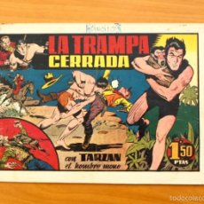 Tebeos: TARZÁN - Nº 19, LA TRAMPA CERRADA - EDITORIAL HISPANO AMERICANA 1942. Lote 56894330