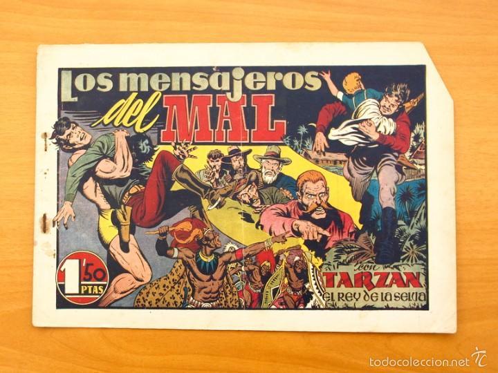 TARZÁN - Nº 22, LOS MENSAJEROS DEL MAL - EDITORIAL HISPANO AMERICANA 1942 (Tebeos y Comics - Hispano Americana - Tarzán)