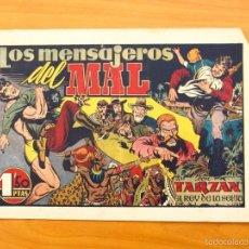 Tebeos: TARZÁN - Nº 22, LOS MENSAJEROS DEL MAL - EDITORIAL HISPANO AMERICANA 1942. Lote 56894373