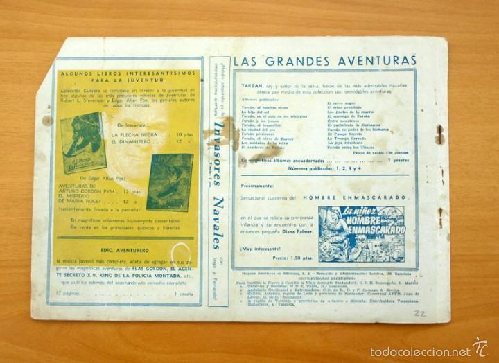 Tebeos: Tarzán - Nº 22, los mensajeros del mal - Editorial Hispano Americana 1942 - Foto 4 - 56894373