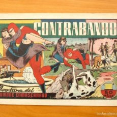 Tebeos: EL HOMBRE ENMASCARADO Nº 39 CONTRABANDO - EDITORIAL HISPANO AMERICANA 1941. Lote 56895266