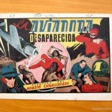 Tebeos: EL HOMBRE ENMASCARADO Nº 41 LA AVIADORA DESAPARECIDA - EDITORIAL HISPANO AMERICANA 1941. Lote 56895454