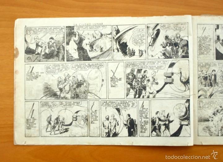 Tebeos: Merlín el mago - Nº 7, la ciudad Lunar - Editorial Hispano Americana 1942 - Foto 2 - 56896011