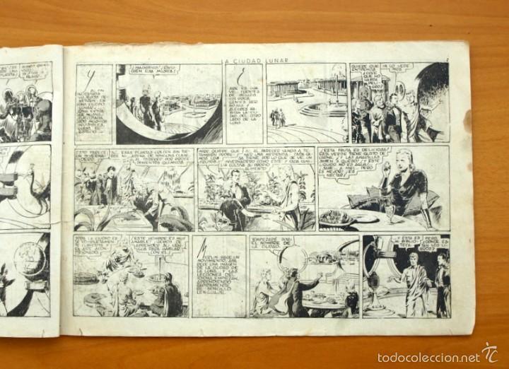 Tebeos: Merlín el mago - Nº 7, la ciudad Lunar - Editorial Hispano Americana 1942 - Foto 3 - 56896011
