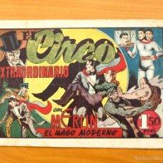 Tebeos: MERLÍN EL MAGO - Nº 22, EL CIRCO EXTRAORDINARIO - EDITORIAL HISPANO AMERICANA 1942. Lote 56896114