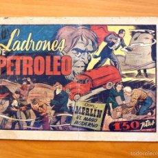 Tebeos: MERLÍN EL MAGO - Nº 25, LOS LADRONES DE PETROLEO - EDITORIAL HISPANO AMERICANA 1942. Lote 56896265
