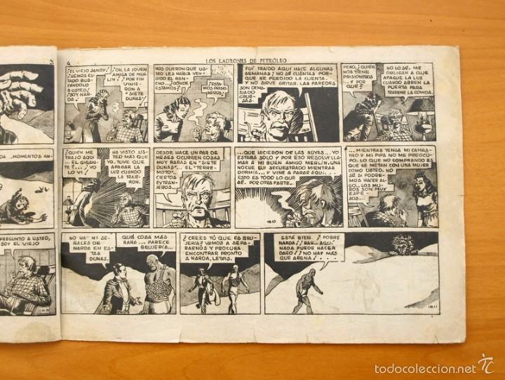 Tebeos: Merlín el mago - Nº 25, los ladrones de Petroleo - Editorial Hispano Americana 1942 - Foto 3 - 56896265