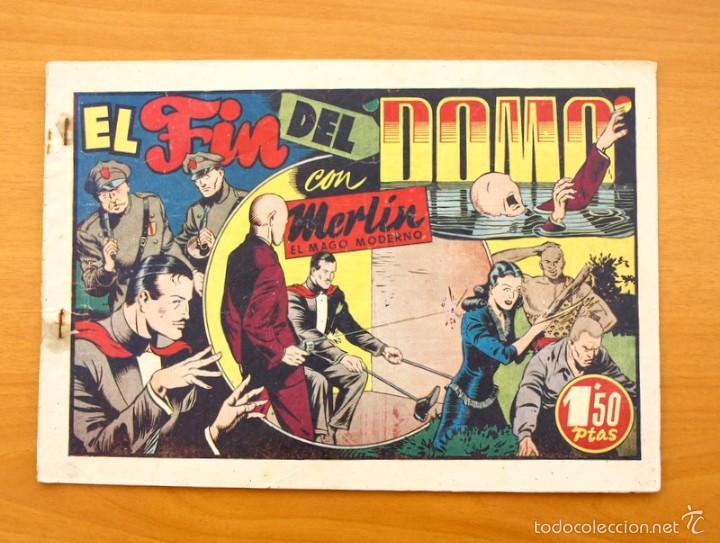 MERLÍN EL MAGO - Nº 21, EL FIN DEL DOMO - EDITORIAL HISPANO AMERICANA 1942 (Tebeos y Comics - Hispano Americana - Merlín)