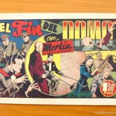 Tebeos: MERLÍN EL MAGO - Nº 21, EL FIN DEL DOMO - EDITORIAL HISPANO AMERICANA 1942. Lote 56907520