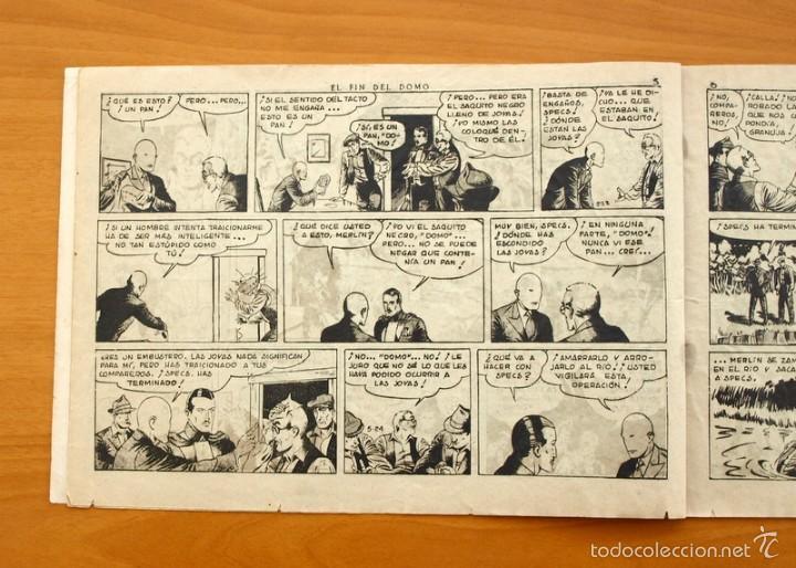 Tebeos: Merlín el mago - Nº 21, el fin del Domo - Editorial Hispano Americana 1942 - Foto 2 - 56907520