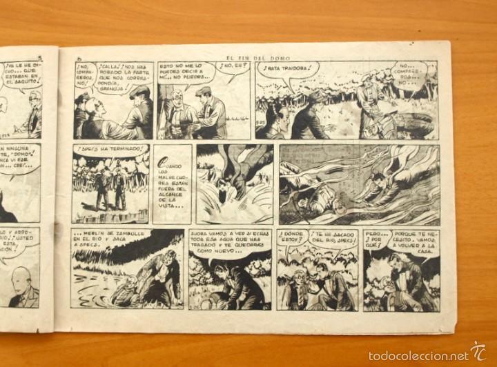 Tebeos: Merlín el mago - Nº 21, el fin del Domo - Editorial Hispano Americana 1942 - Foto 3 - 56907520