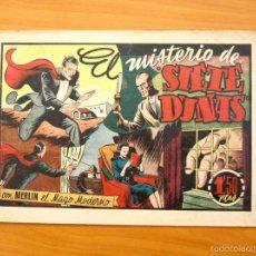 Tebeos: MERLÍN EL MAGO - Nº 24, EL MISTERIO DE SIETE DUNAS - EDITORIAL HISPANO AMERICANA 1942. Lote 56907541