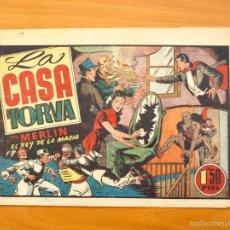 Tebeos: MERLÍN EL MAGO - Nº 29, LA CASA TORVA - EDITORIAL HISPANO AMERICANA 1942. Lote 56907577