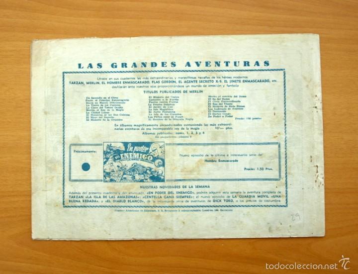Tebeos: Merlín el mago - Nº 29, la casa Torva - Editorial Hispano Americana 1942 - Foto 4 - 56907577