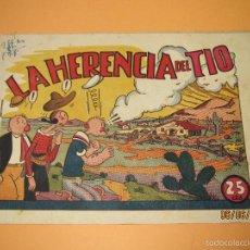 Tebeos: COLECCIÓN INFANTIL GRANDES AVENTURAS IGA POPEYE Nº 6 LA HERENCIA DEL TIO HISPANO AMERICANA 1940S.. Lote 57353575