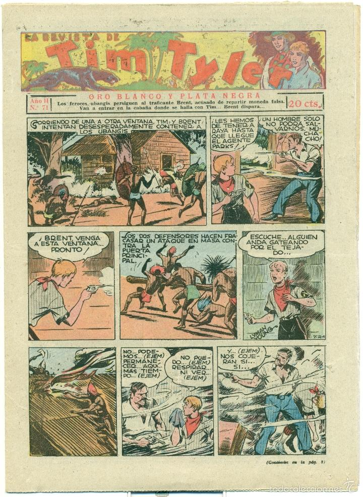 TIM TYLER Nº 71 (Tebeos y Comics - Hispano Americana - Tim Tyler)