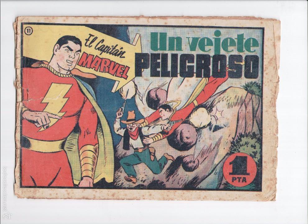 CAPITAN MARVEL Nº 11 HISPANO AMERICANA 1949 (Tebeos y Comics - Hispano Americana - Capitán Marvel)