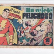 Tebeos: CAPITAN MARVEL Nº 11 HISPANO AMERICANA 1949. Lote 57836911