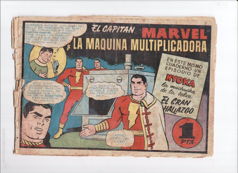 CAPITAN MARVEL Nº 8 HISPANO AMERICANA 1947 (Tebeos y Comics - Hispano Americana - Capitán Marvel)