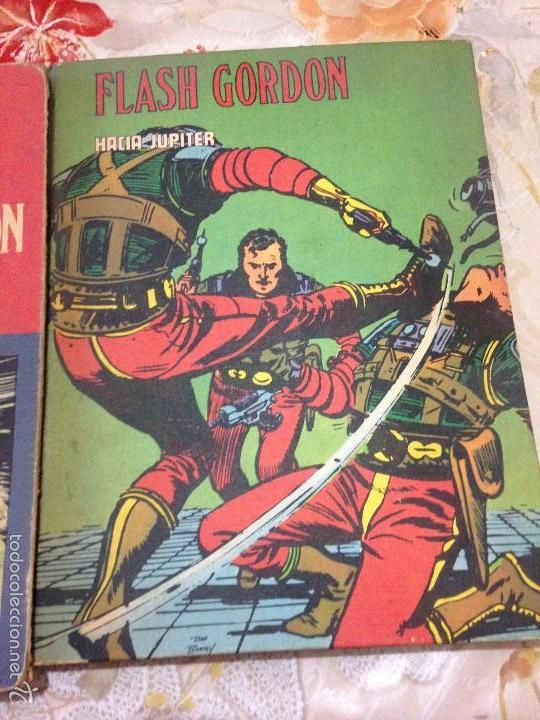 Tebeos: LOTE DE TRES LIBROS COMICS DE FLASH GORDON AÑO 1972 BURU LAN - Foto 4 - 58222403